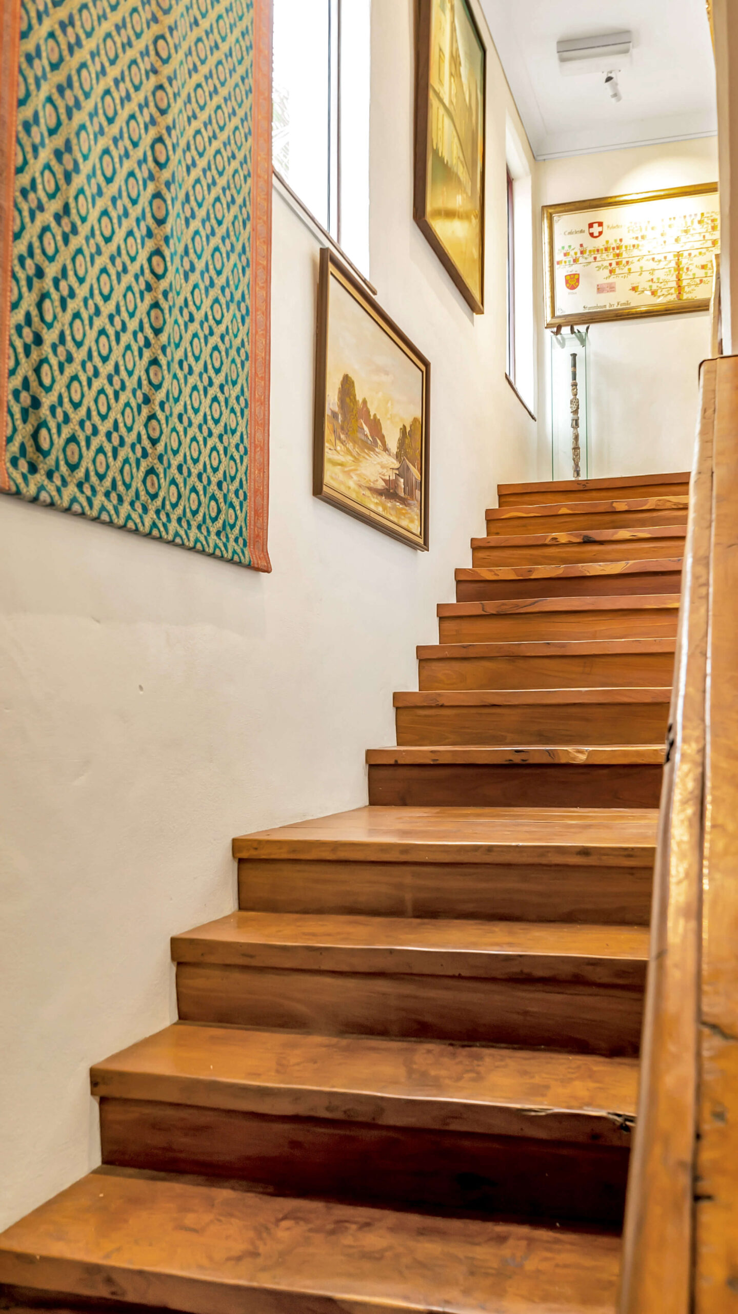 Stair Case to Parental Retreat